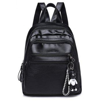 Fashion PU Soft Leather Wild Large Capacity