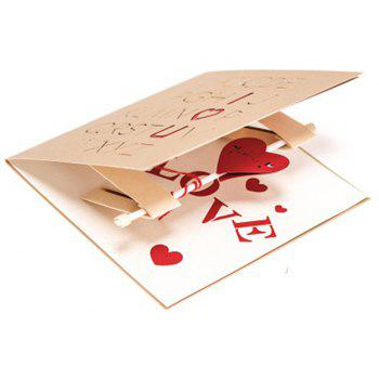 Creative Love Greeting Card Manual - RED