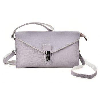 Women s Crossbody Bag Hasp Lock Design