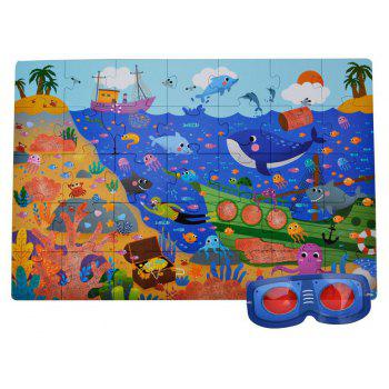 Secret Ocean Jigsaw Puzzle Game - COLORFUL