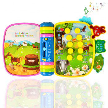 Musical Book Flip Learning Toys - COLORFUL