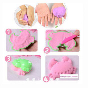 Kinetic Sand Box with Molds Activity Toys - MIXED COLOUR