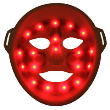 Advanced LED Facial Mask Light Photon Therapy System Facial Skin Care And Beauty Mask Spa Beauty Salon - WHITE