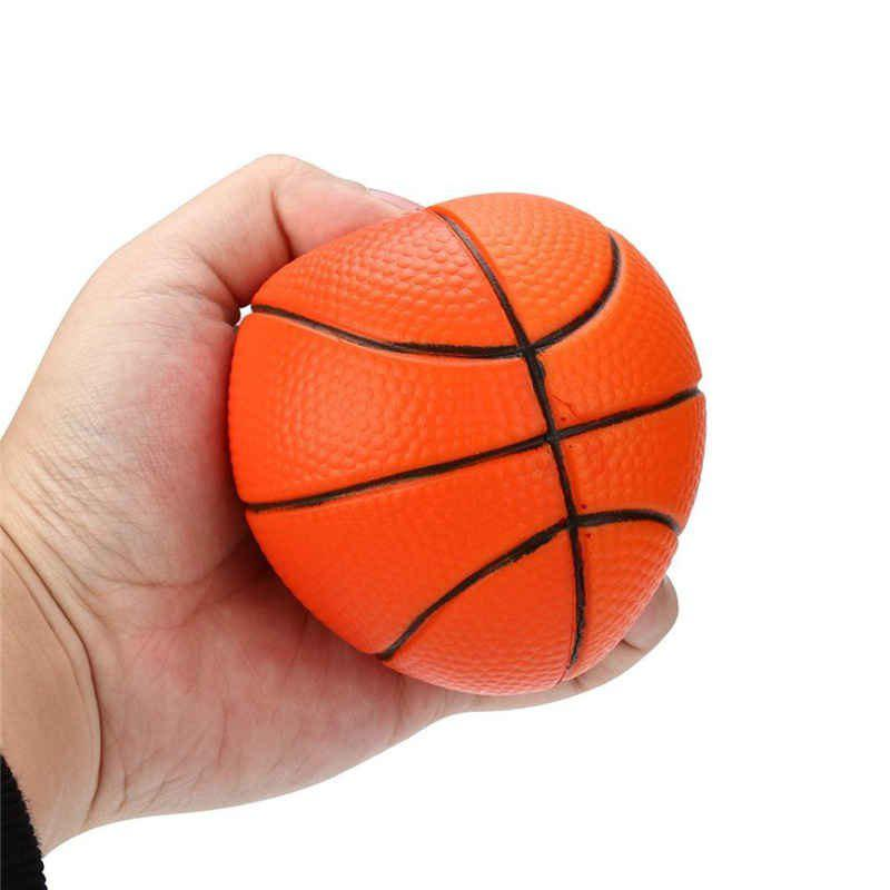 Basketball Squishy : 2018 Jumbo Squishy Slow Rising Basketball Simulation Squeeze Toy Sport Themed Balls To COLORMIX ...