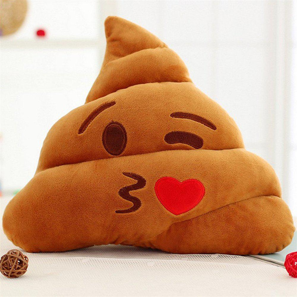 Poop Face Lovely Emoticon Cushion Pillow Stuffed Plush Toy Doll 255751601