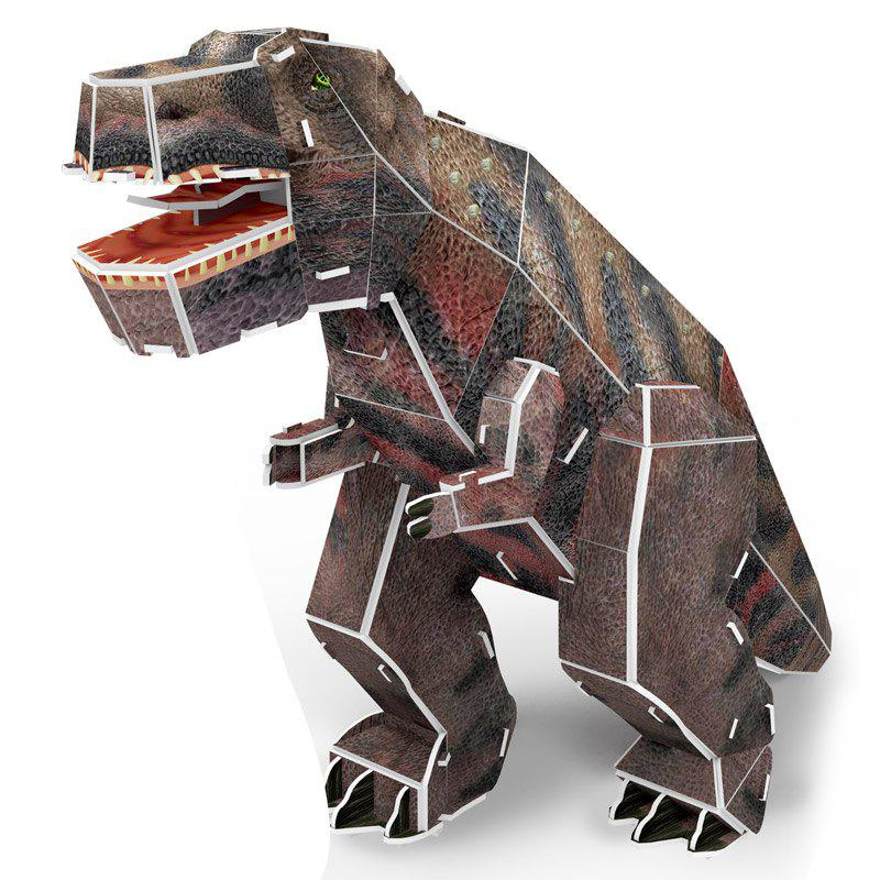 3D Jigsaw Puzzle Toy Tyrannosaurus - COLORMIX