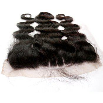 Body Wave Peruvian Human Virgin Hair Lace Frontal Natural Color 2pcs - NATURAL COLOR 18INCH*18INCH