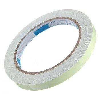 Luminous Tape Self-adhesive Wall Sticker Safety Warning Security  Decoration - WHITE