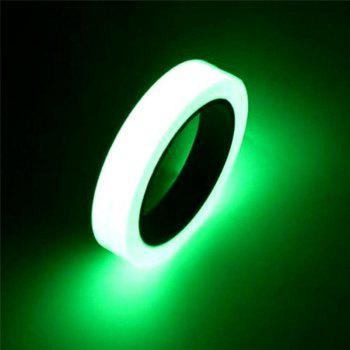 Luminous Tape Self-adhesive Wall Sticker Safety Warning Security Decoration - 3m - WHITE