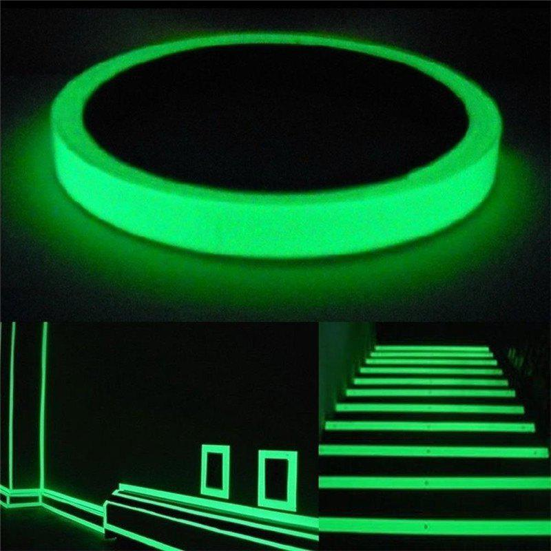 Luminous Tape Self-adhesive Wall Sticker Safety Warning Security Decoration - 3m silicone self adhesive tape