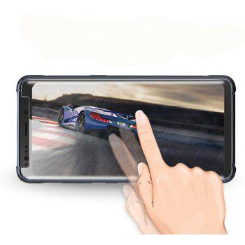 Screen Protector for Samsung Galaxy S8 Active High Sensitivit HD Full Coverage High Clear Premium Tempered Glass - TRANSPARENT