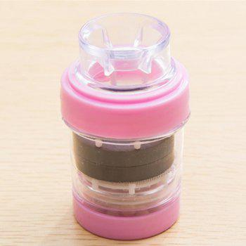 1Pc Magnetized Faucet Filter for Wheat Rice - PINK 3.8X3.8X7CM