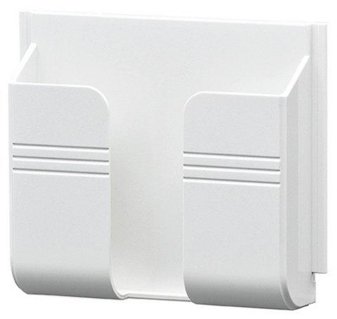 Household Hotel Wall Socket Phone Stents - WHITE