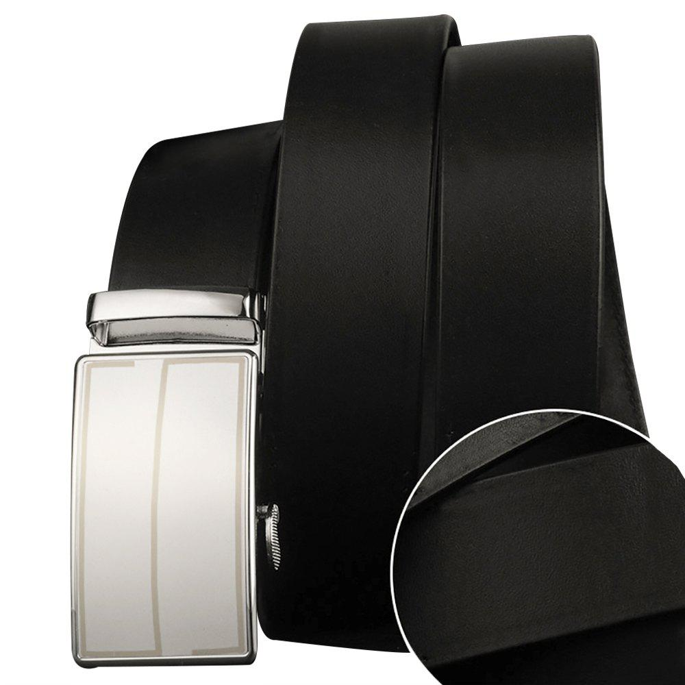 Automatic Buckle Belt-130CM - BLACK 130CM