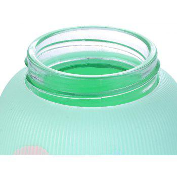 Painted Double Glazed Glass Water Cup - IVY
