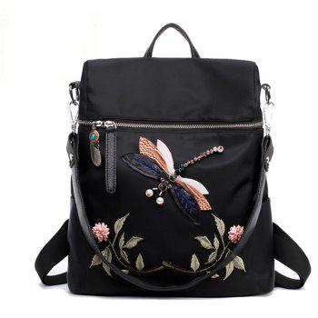 Dragonfly Women Backpack 2017 Woman Casual High
