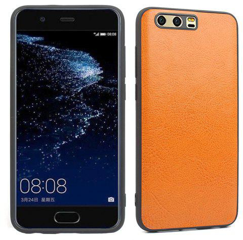 Candy Full Cover for Huawei P10 Plus Luxury Back Matte Soft Silicon Case - ORANGE COW