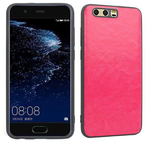 Candy Full Cover for Huawei P10 Plus Luxury Back Matte Soft Silicon Case - SANGRIA