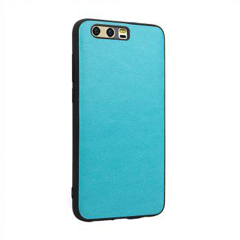 Candy Full Cover for Huawei P10 Plus Luxury Back Matte Soft Silicon Case - BLUE