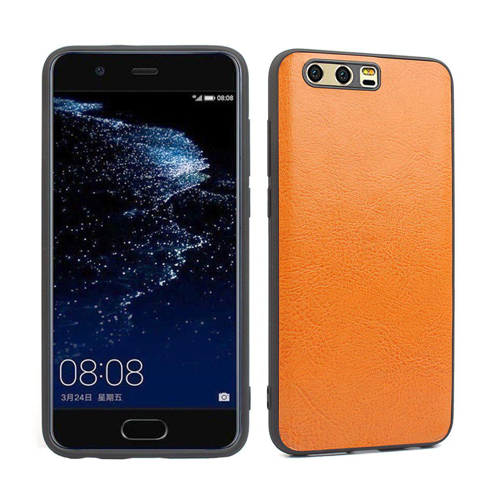 Candy Full Cover pour Huawei P10 Plus Luxury Silicone souple - Orange Vache