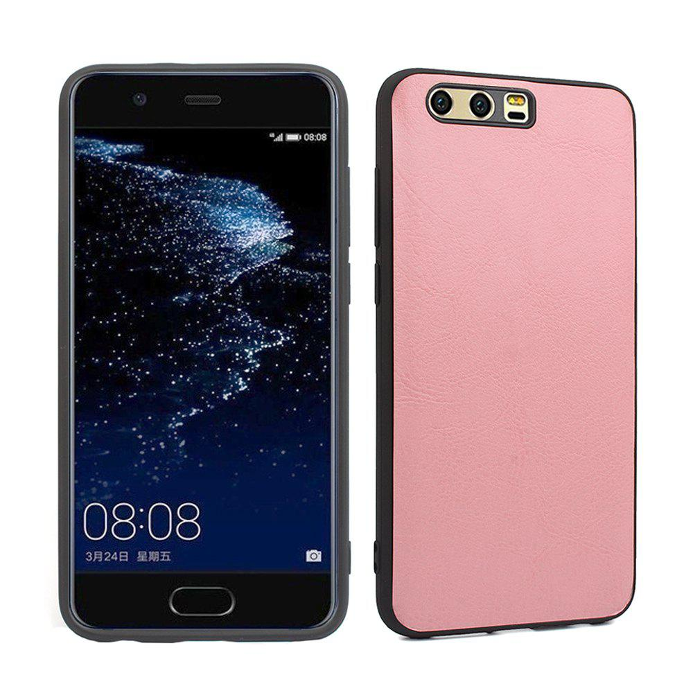 Candy Full Cover pour Huawei P10 Plus Luxury Silicone souple - ROSE PÂLE