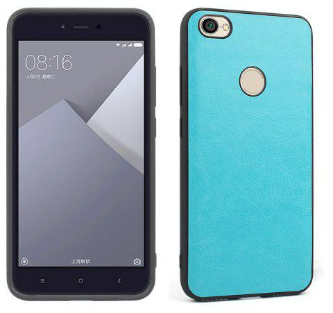 Phone Case for Xiaomi Redmi Note 5A Mobile Phone Shell Back Shell Skin Crazy Horse Grain Mobile Phone Protection Shell - BLUE
