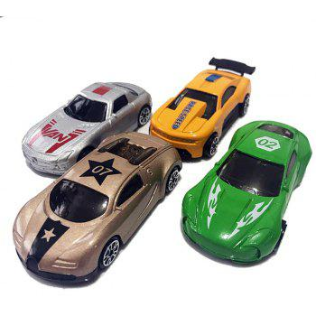 Simulate Automobile Model Toy 4PCS - COLORMIX
