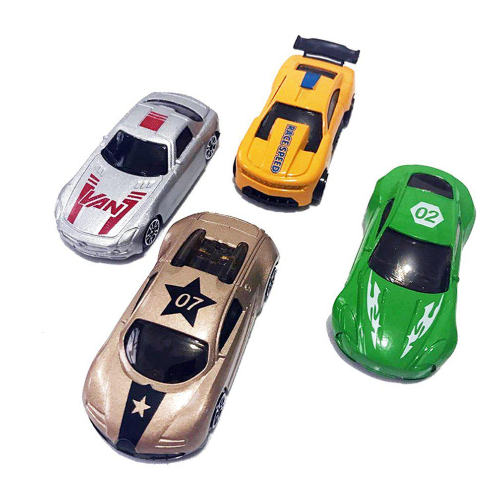 Le modèle d'automobile Simulation 4PCS - multicolore