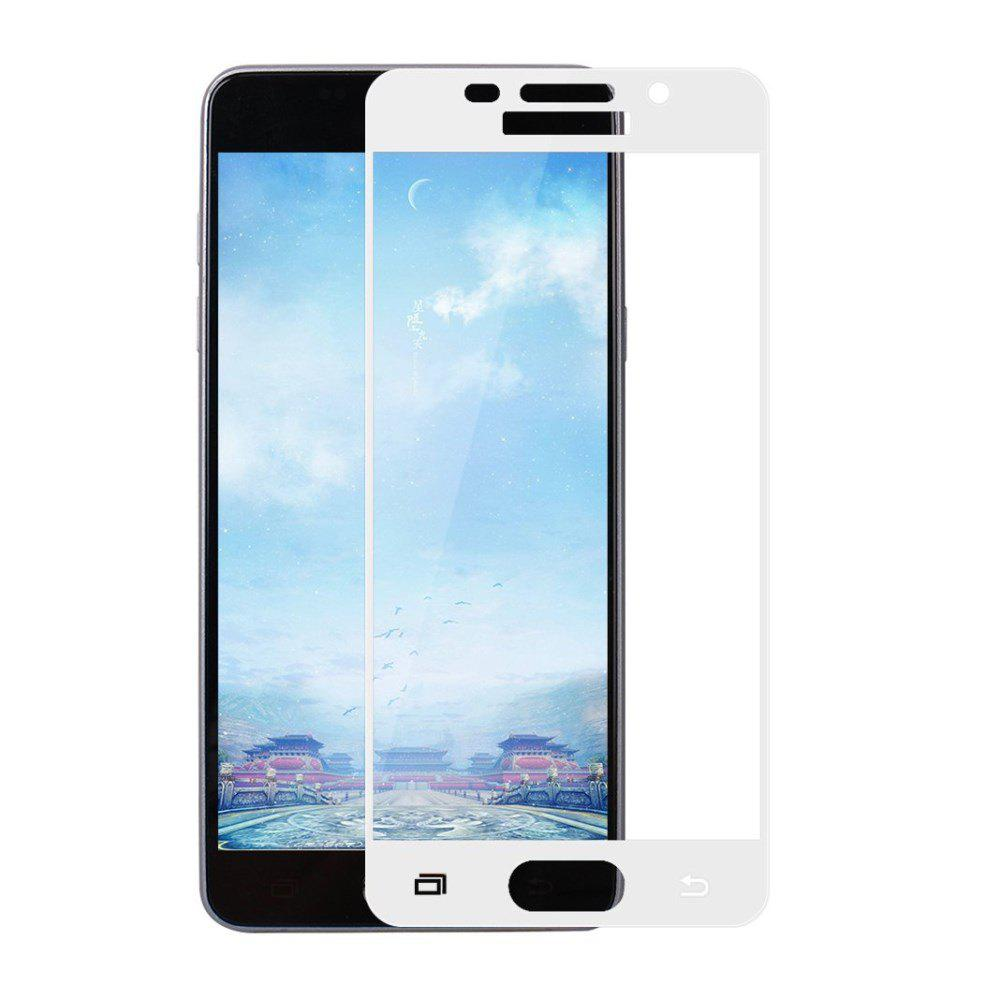 2PCS Screen Protector for Samsung Galaxy A3 2016 HD 3D Full Coverage Anti-Explosion High Sensitivit Tempered Glass - WHITE