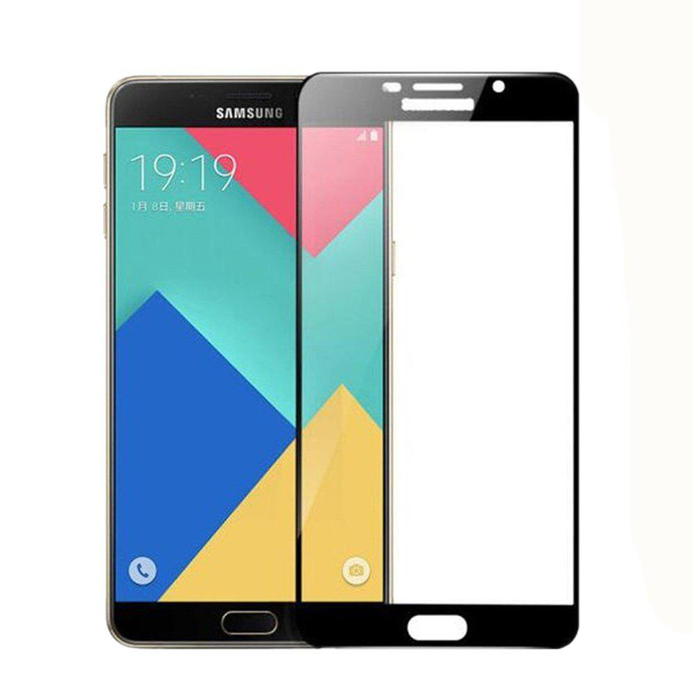 2PCS Screen Protector for Samsung Galaxy A5 2016 HD 3D Full Coverage Anti-Explosion High Sensitivit Tempered Glass - BLACK
