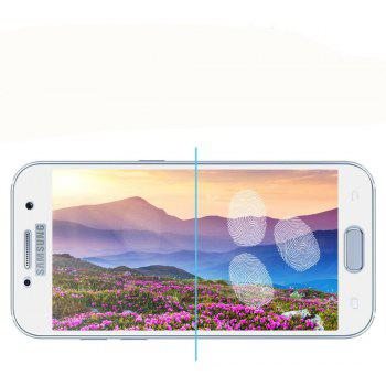 2PCS Screen Protector for Samsung Galaxy A5 2017 HD 3D Full Coverage Anti-Explosion High Sensitivit Tempered Glass - WHITE