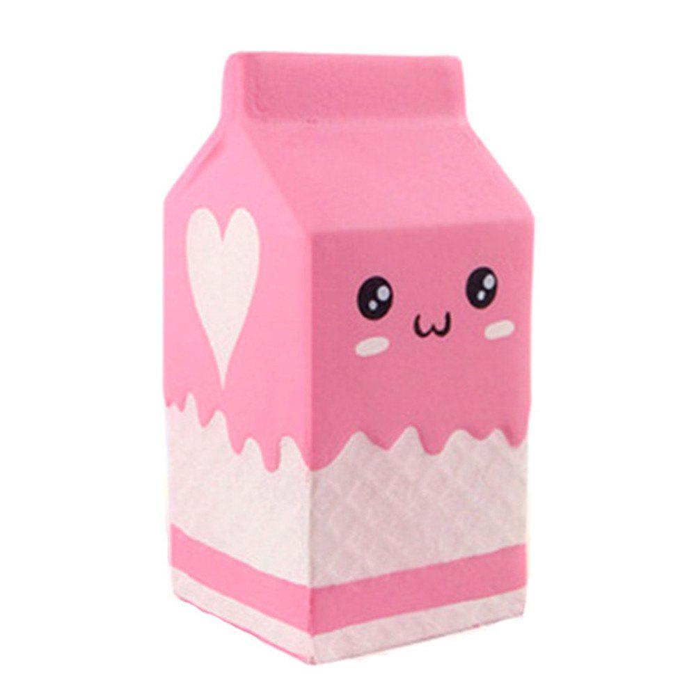 Jumbo Scented Slow Rising Yogurt Bottle Jumbo Squishy Kawaii Toys for Kids Adult - PINK