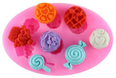 Lollipop Candy Silicone Fondant Mold - PINK