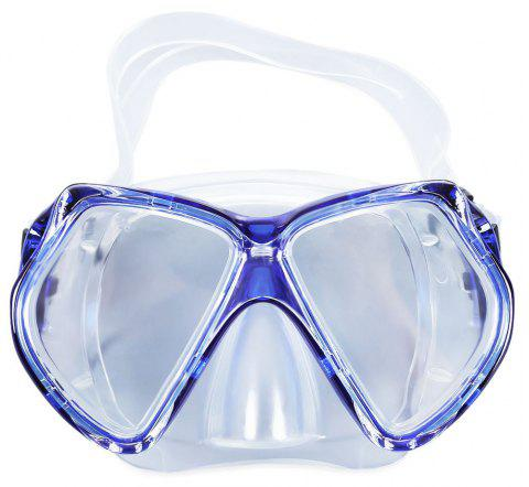 Eco-friendly Adult Diving Mask - BLUE