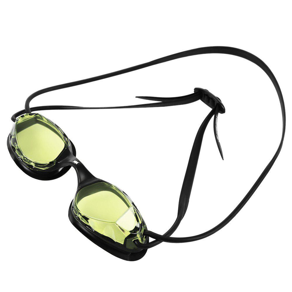 Adult Fitness Swimming Goggles - YELLOW