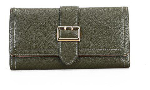 The New Female Long Simple Fashion Leisure Wallet - IVY