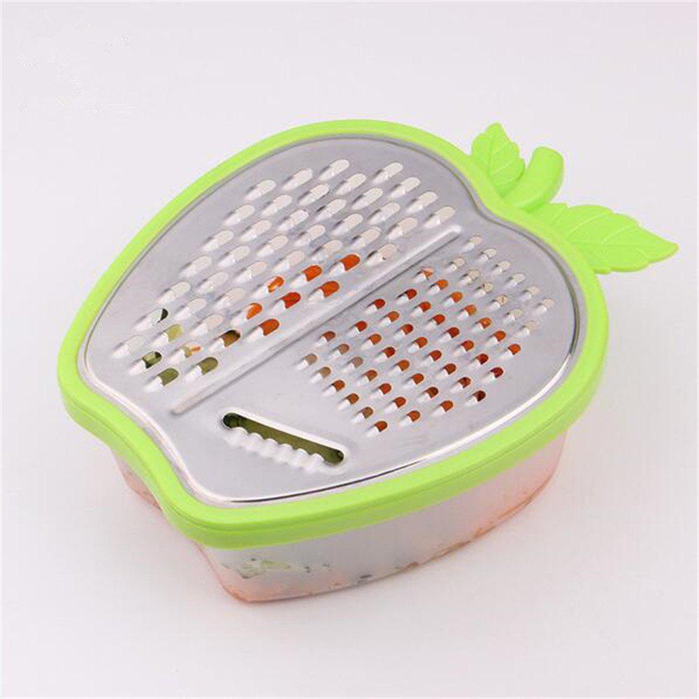 Portable Stainless Steel Kitchen Grater Carrot Cutter Fruits Vegetable Slicer Kitchen Gadget - IVY