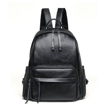 Fashion Women Waterproof PU Leather Backpack Casual
