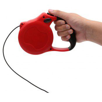 Automatic Traction Rope for Pet Dog - RED