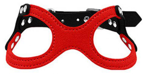 Lovoyager HP028 Soft and Explosion-Proof Dogs Harness - RED M