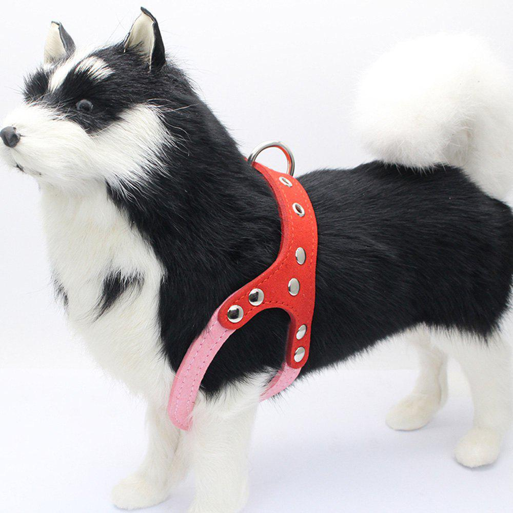 Lovoyager HP028 Soft and Explosion-Proof Dogs Harness - PINK M