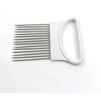 DIHE Fruits Vegetables Meat Section Locking Pin Stainless Steel - WHITE