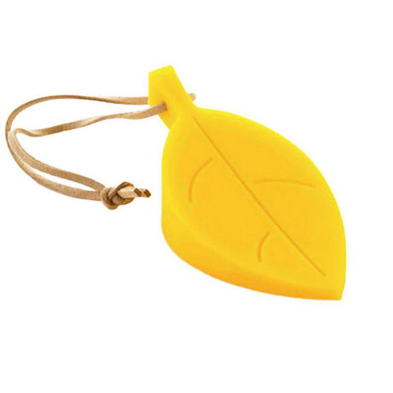 DIHE Leaf Silica Gel Door Shield Suspensibility Originality - YELLOW