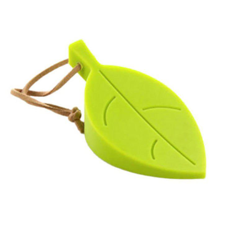 DIHE Leaf Silica Gel Door Shield Suspensibility Originality - GREEN