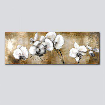 QiaoJiaHuaYuan No Frame Canvas Living Room Sofa Background Abstract Plant Flower Decorative Painting Bedroom Head Hangin - COLORMIX