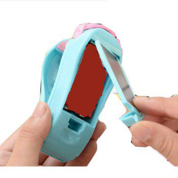 Portable Household Mini Seal Confidentiality Sealing Machine for Food Plastic Bag - BLUE 10X5CM