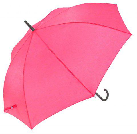 Auto Open Crook Weatherproof Stick Umbrella - PINK 88 X 8 X 2 CM