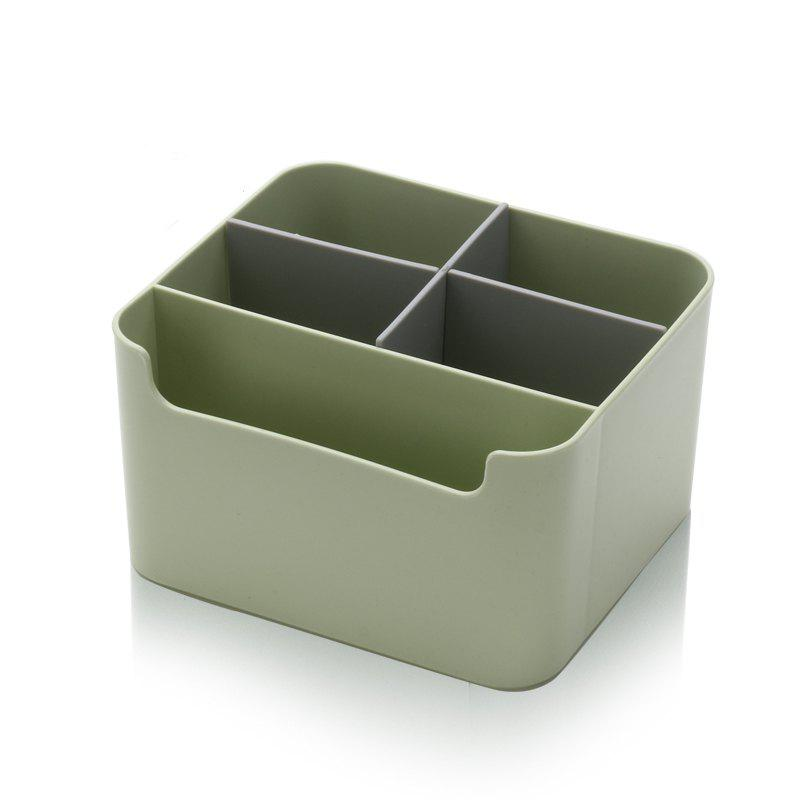 Multifunction Tissue Box Living Room Remote Control Storage Box   GREEN