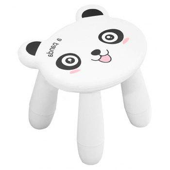 Baby Stool Cartoon Disassembly Assembly Change Shoes Stool - WHITE