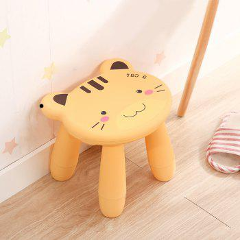 Baby Stool Cartoon Disassembly Assembly Change Shoes Stool - YELLOW